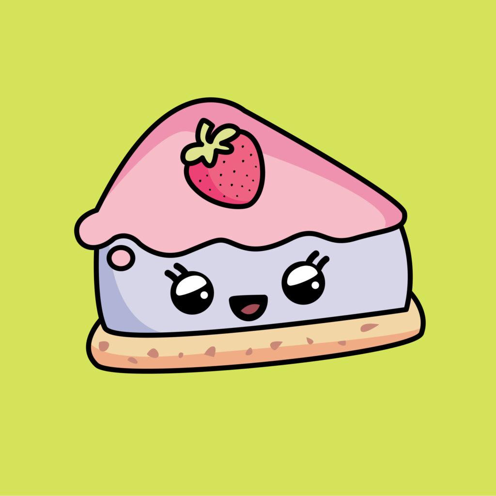 Cheese cake kawaii