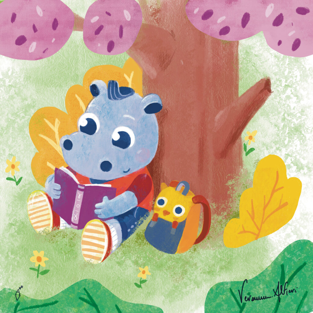 hippopotamus book park