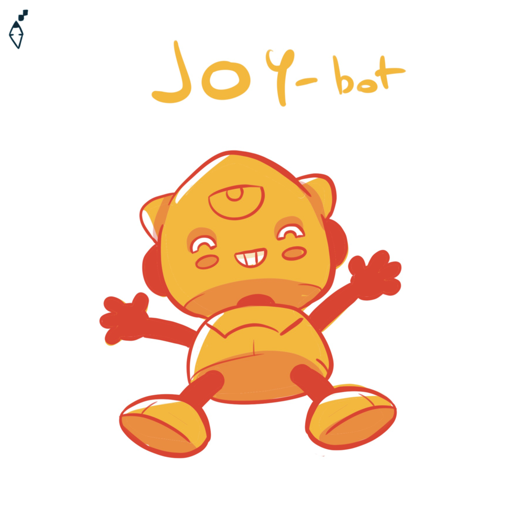 Joy-bot. Also the robot can feel the feelings