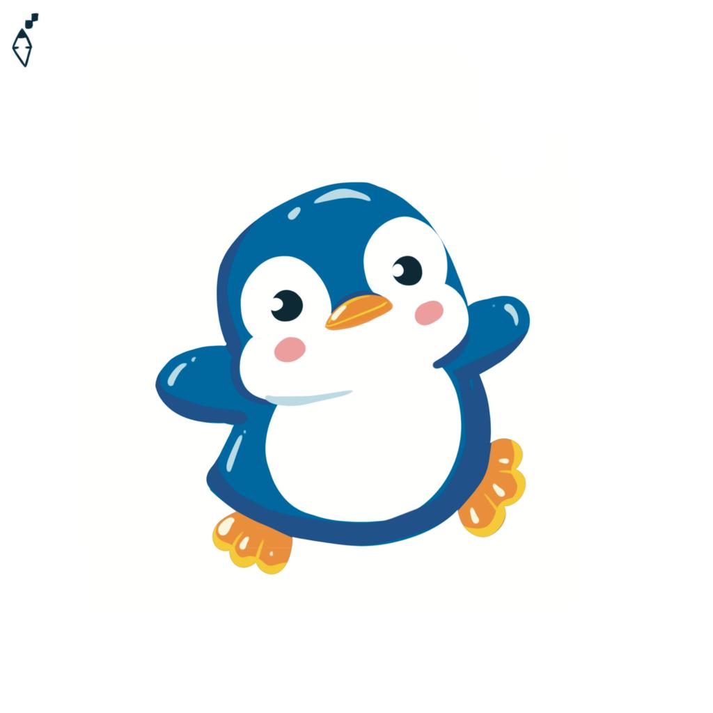 mooving penguin