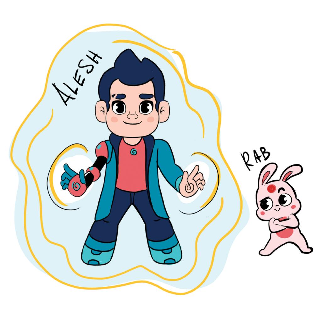 portal maker character design