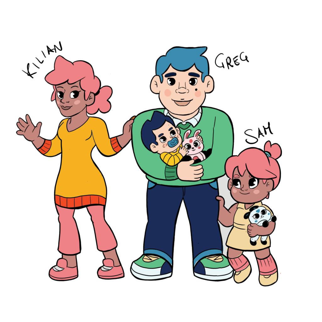 Alesh's family (past)