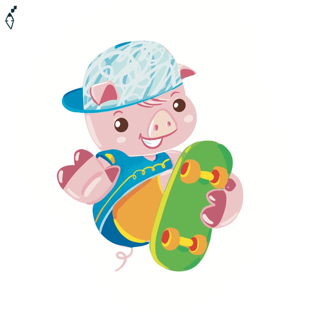 pig skater