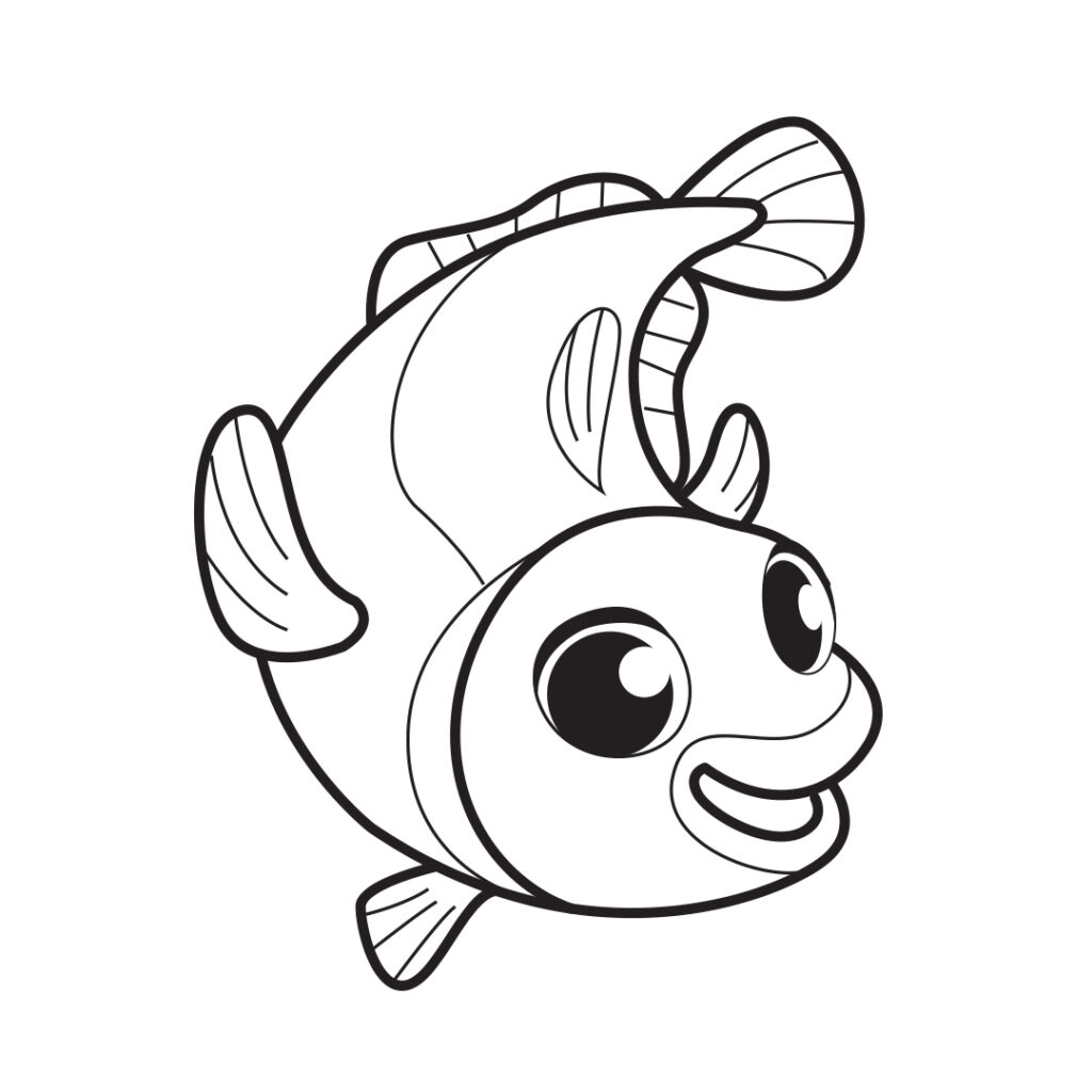 Fish from the Alphabet book of Colorkid