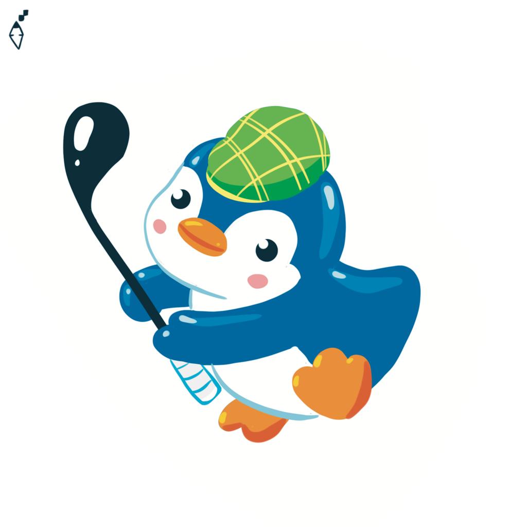 golfist penguin
