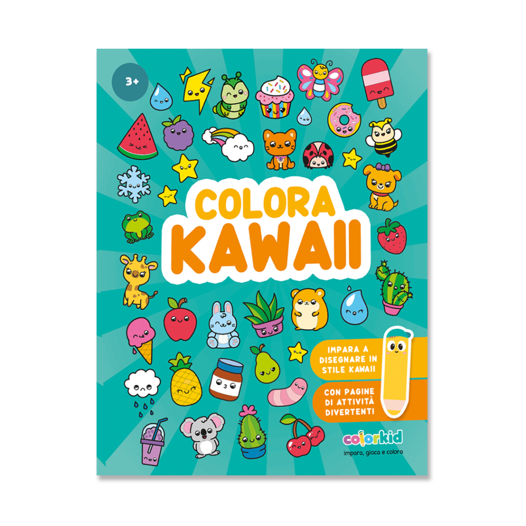 Kawaii book Colorkid cover