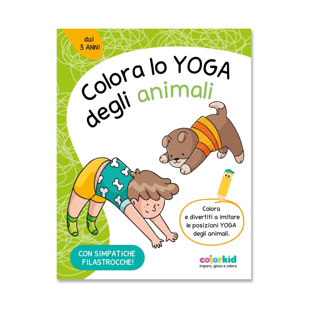 Yoga book Colorkid cover
