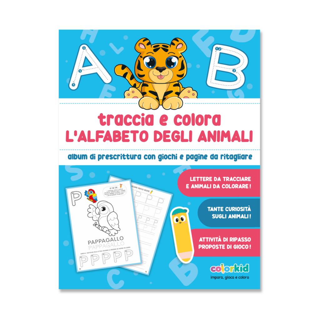 Alphabet book Colorkid cover